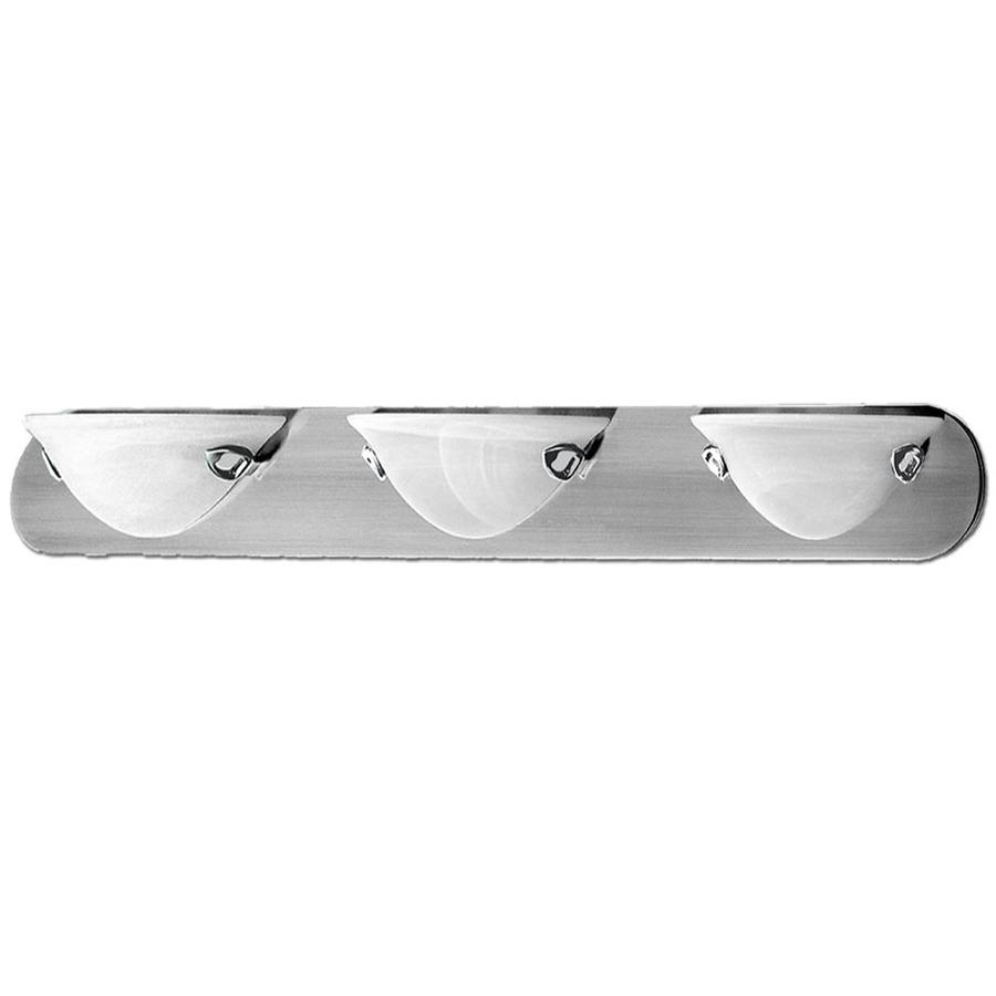 Khaleesi 3-Light 4.5-in Satin Chrome Bowl Vanity Light