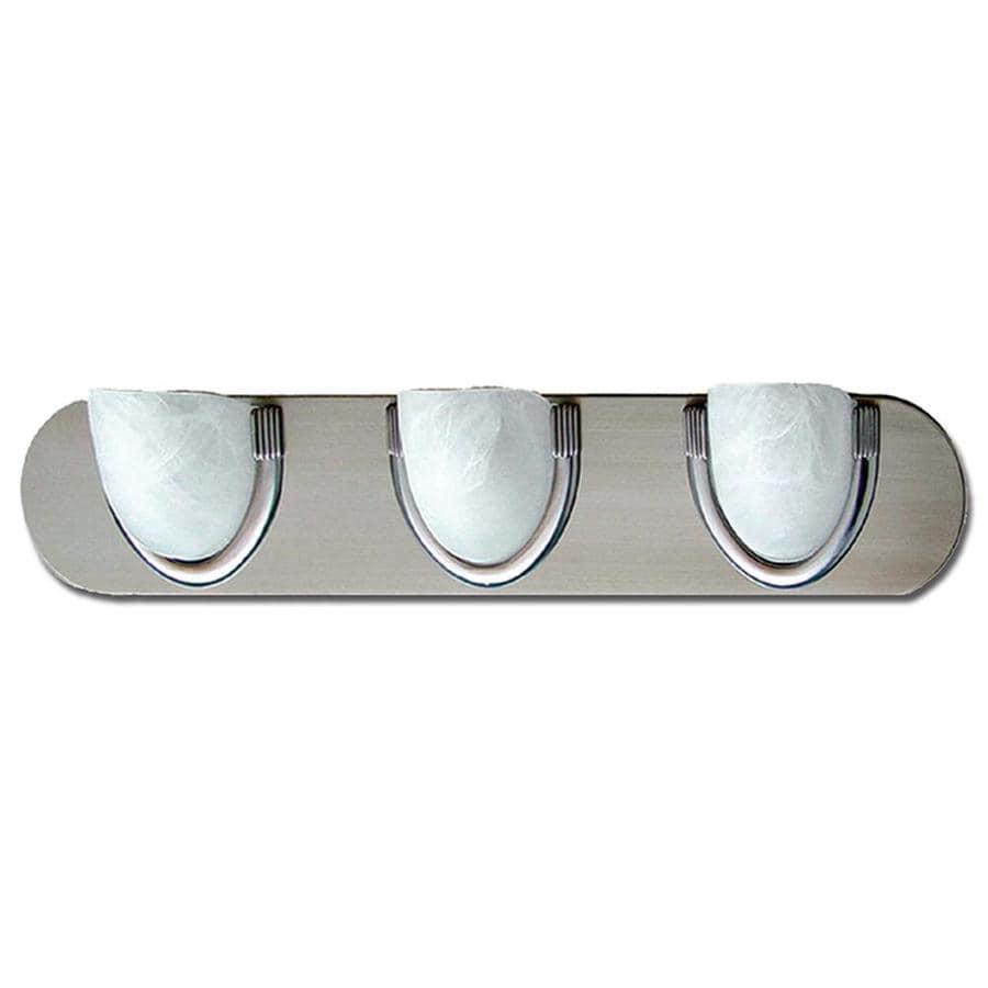 Khaleesi 3-Light 5-in Satin Chrome Bowl Vanity Light