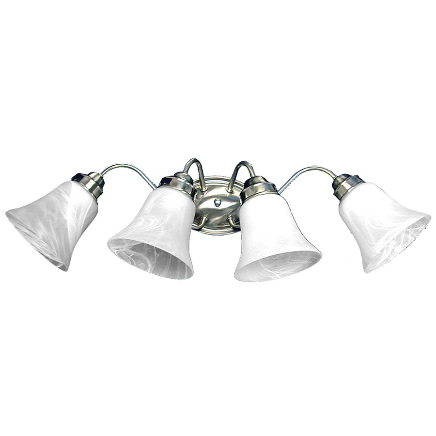 Vanity Lights Polished Chrome : Shop Khaleesi 4-Light 8.5-in Polished Chrome Bell Vanity Light at Lowes.com