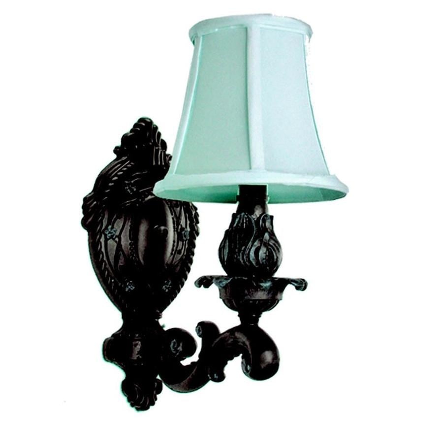 Shop Khaleesi 6-in W 1-Light Old English Bronze Arm Wall Sconce at Lowes.com