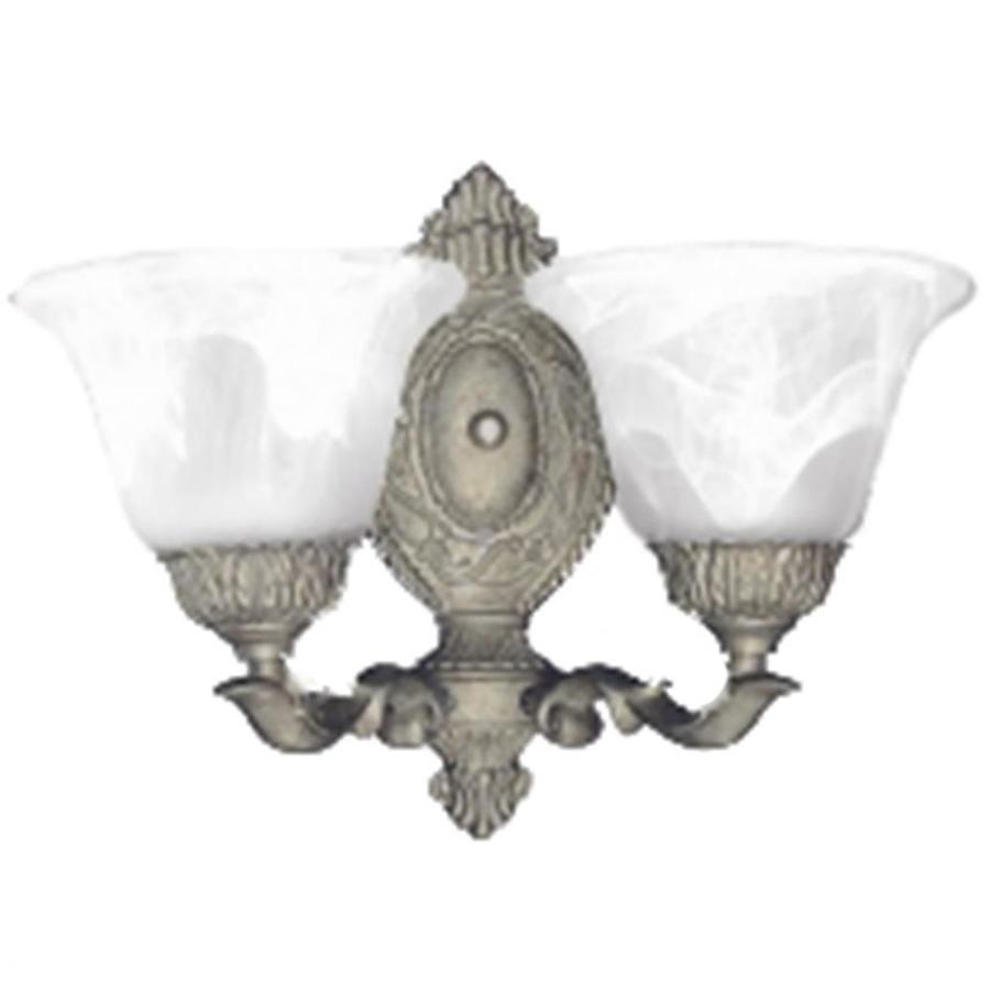 Khaleesi 2-Light 10.5-in Ivory Bell Vanity Light