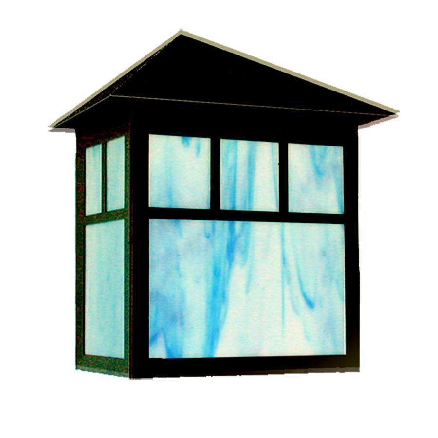 Khaleesi 10-in H Black Dark Sky Outdoor Wall Light