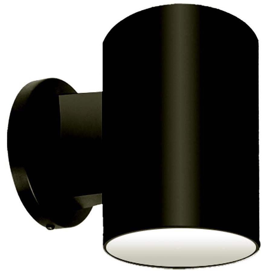 Khaleesi 7-in H Black Dark Sky Outdoor Wall Light