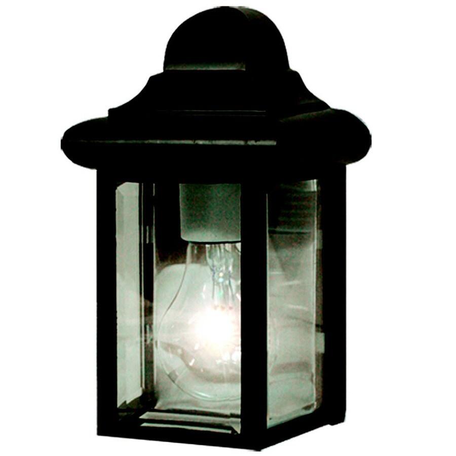 Khaleesi 8.75-in H Black Dark Sky Outdoor Wall Light