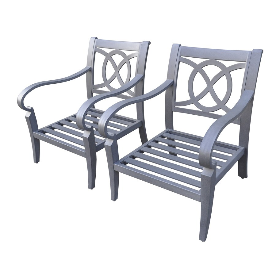 allen + roth Newstead Patio Conversation Chair