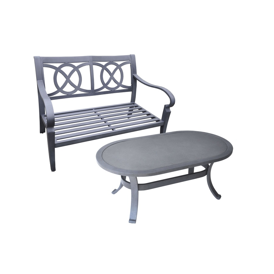 allen + roth Newstead 2-Piece Patio Conversation Set