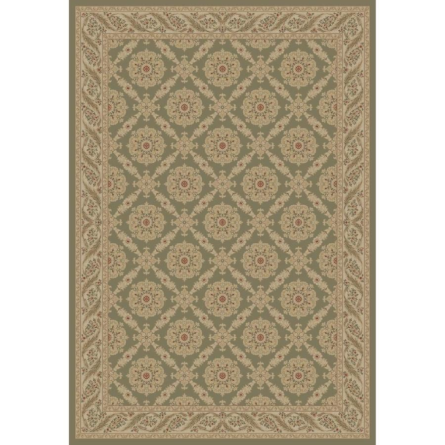 Concord Global Legend Gray Rectangular Indoor Woven Oriental Area Rug (Common: 9 x 12; Actual: 8.75-ft W x 12.25-ft L x 8.75-ft Dia)