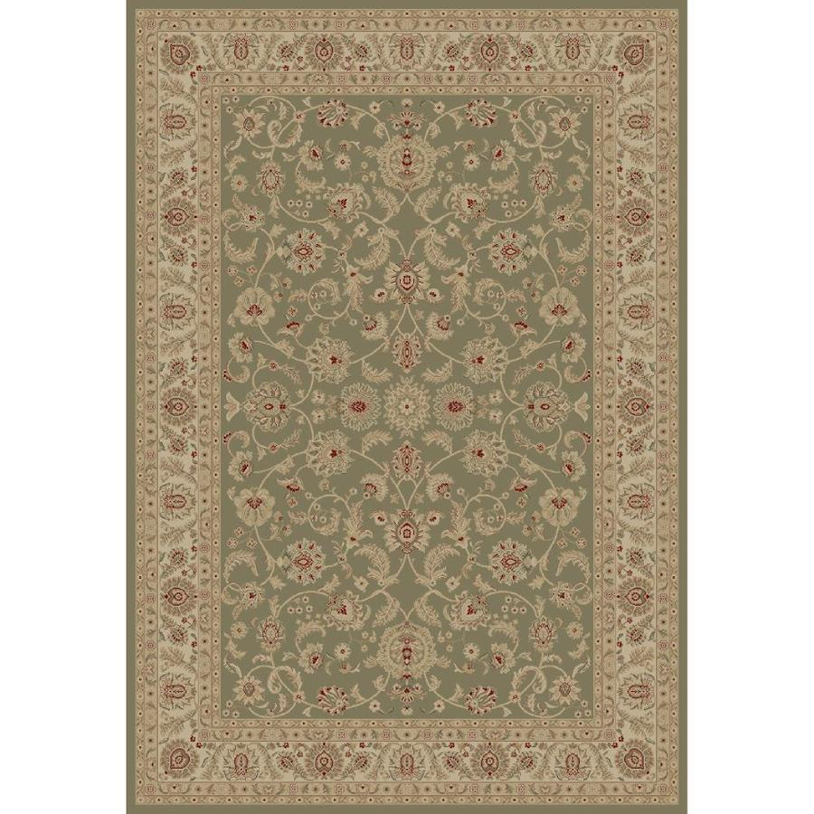 Concord Global Legend Gray Rectangular Indoor Oriental Area Rug (Common: 9 x 12; Actual: 8.75-ft W x 12.25-ft L x 8.75-ft dia)