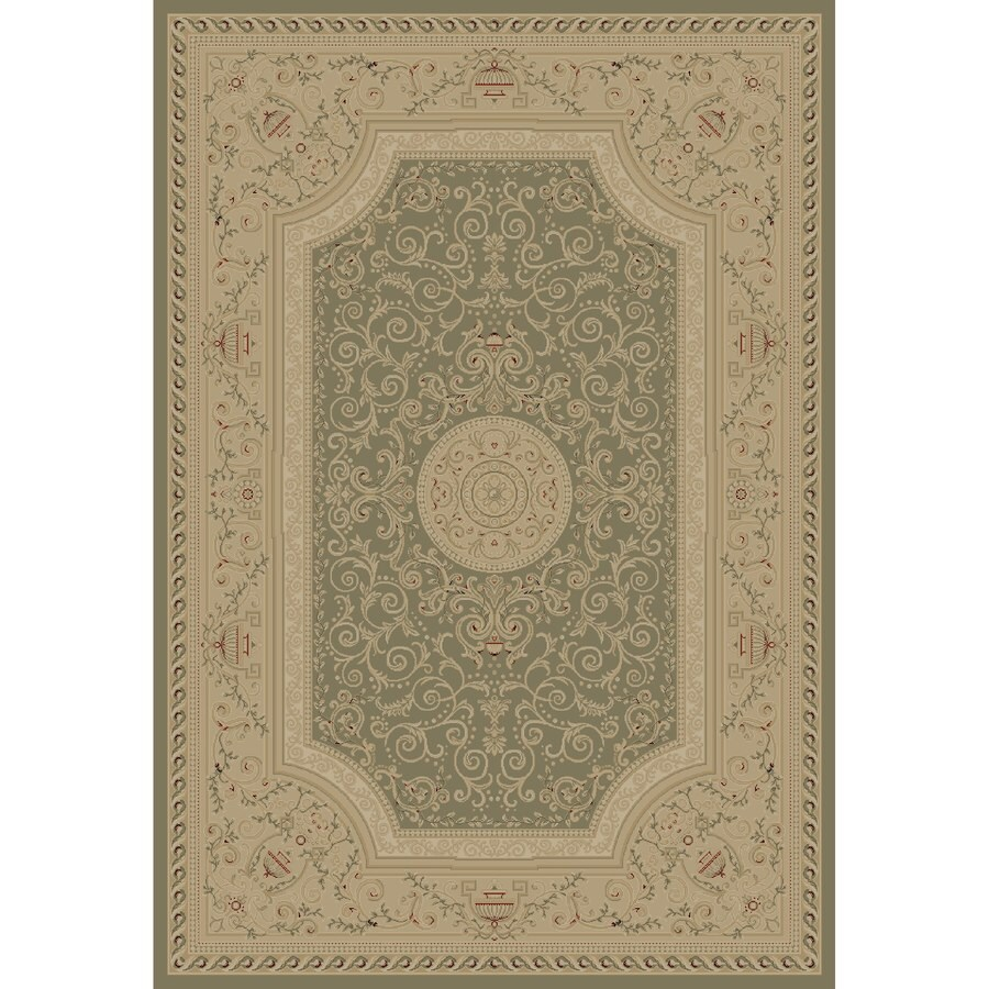 Concord Global Legend Gray Rectangular Indoor Machine-made Oriental Area Rug (Common: 5 x 8; Actual: 5.25-ft W x 7.58-ft L x 5.25-ft Dia)