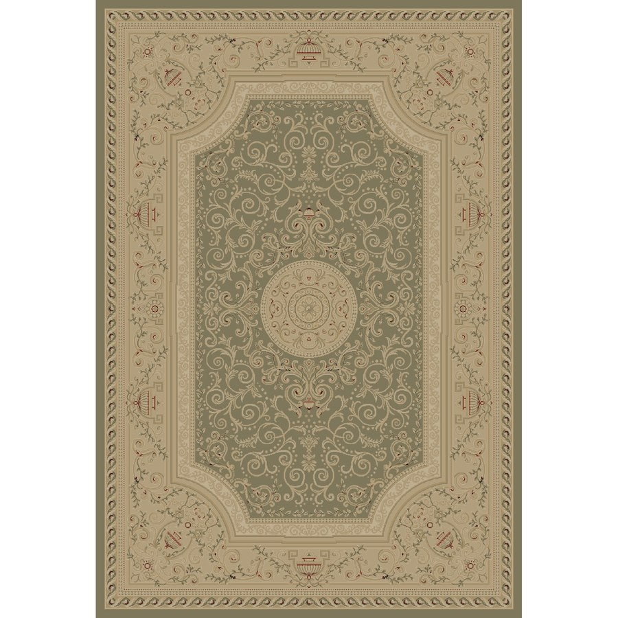 Concord Global Legend Gray Rectangular Indoor Woven Oriental Area Rug (Common: 8 x 11; Actual: 94-in W x 130-in L x 7.83-ft Dia)