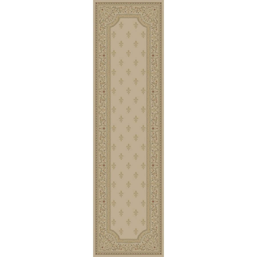 Concord Global Legend Ivory Rectangular Indoor Woven Oriental Runner (Common: 2 x 8; Actual: 2.25-ft W x 7.58-ft L x 2.25-ft Dia)