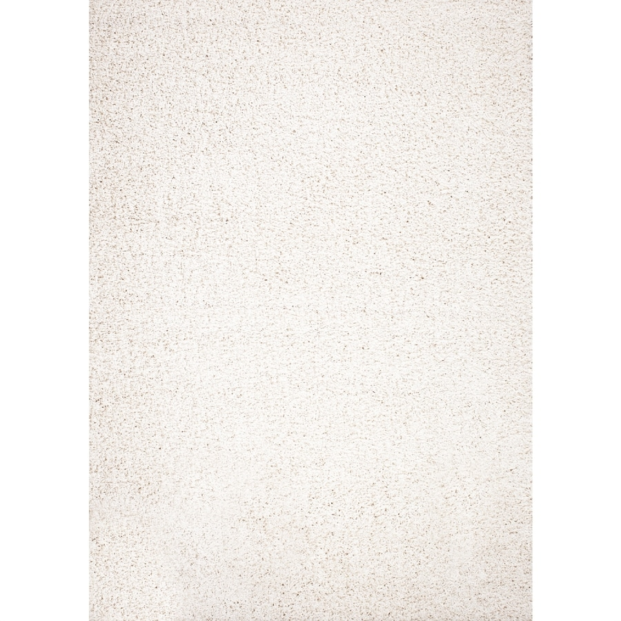 Concord Global Moderno Ivory Rectangular Indoor Woven Area Rug (Common: 5 x 7; Actual: 5-ft W x 7-ft L x 5-ft Dia)