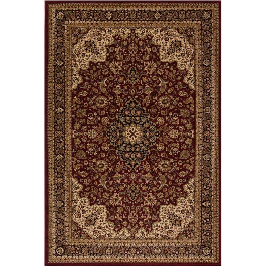 Style Selections Daltorio Red Rectangular Indoor Woven Oriental Runner (Common: 2 x 7; Actual: 1.92-ft W x 7.25-ft L x 1.92-ft Dia)