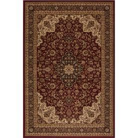 style selections daltorio rectangular indoor woven oriental area rug