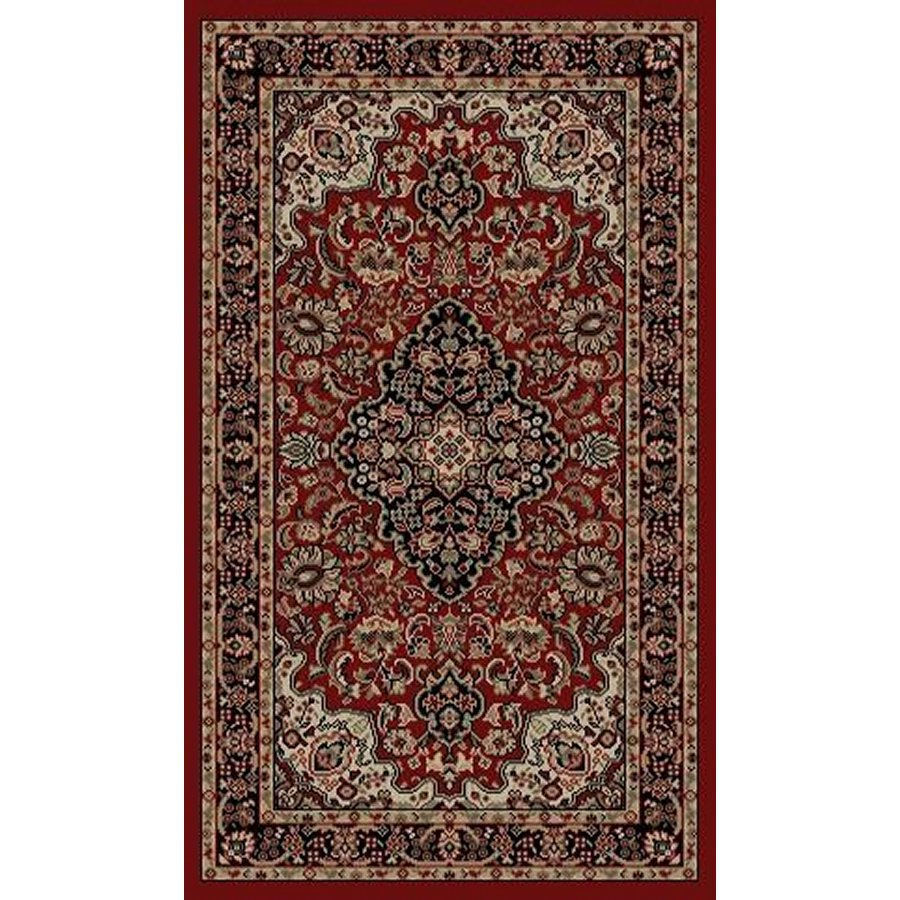 Style Selections Daltorio Red Indoor Oriental Throw Rug Common 2 X 3 Actual