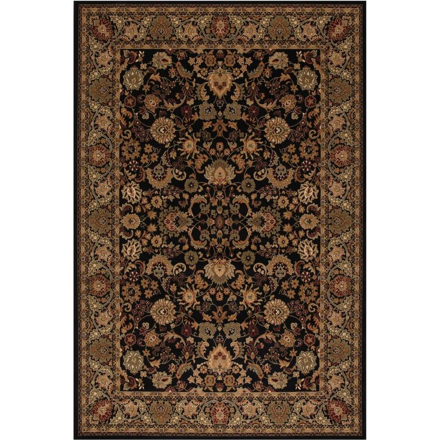 Concord Global Dynasty Black Indoor Oriental Area Rug