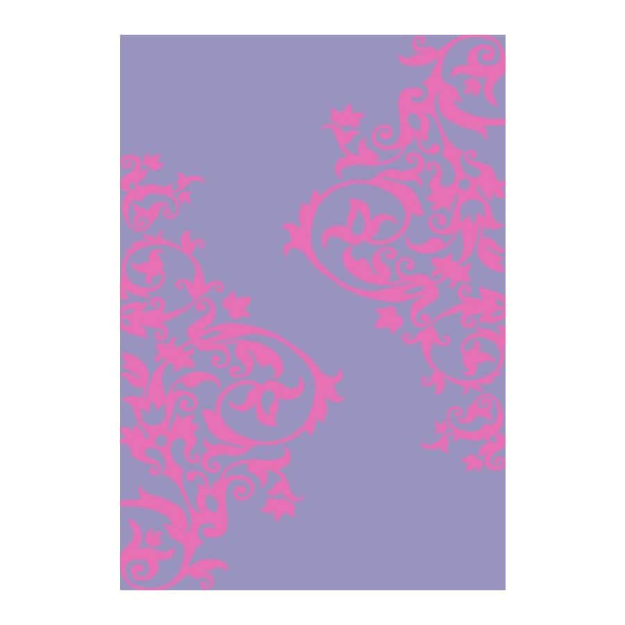 Concord Global Dante Purple Rectangular Indoor Woven Kids Area Rug (Common: 5 x 7; Actual: 60-in W x 84-in L x 5-ft Dia)