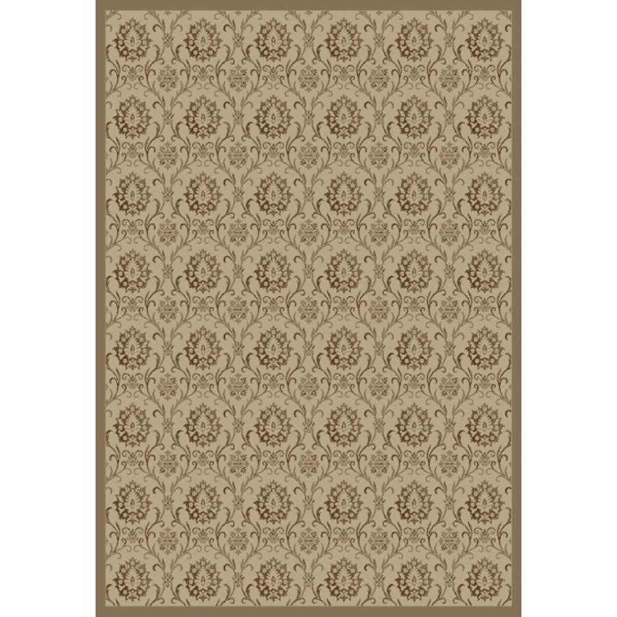 Concord Global Mooresville Ivory Rectangular Indoor Woven Oriental Area Rug (Common: 8 x 11; Actual: 94-in W x 126-in L x 7.83-ft Dia)