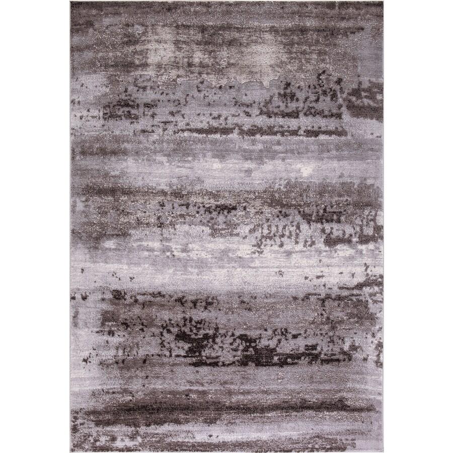 Concord Global Toledo Brown/Gray Rectangular Indoor Machine-Made Oriental Area Rug (Common: 7 x 10; Actual: 6.58-ft W x 9.25-ft L)