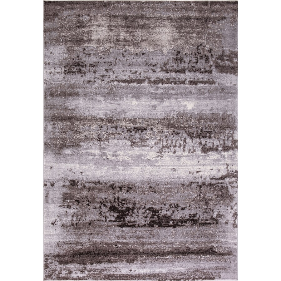 Concord Global Toledo Brown/Gray Rectangular Indoor Machine-Made Oriental Area Rug (Common: 8 x 11; Actual: 7.83-ft W x 10.5-ft L)