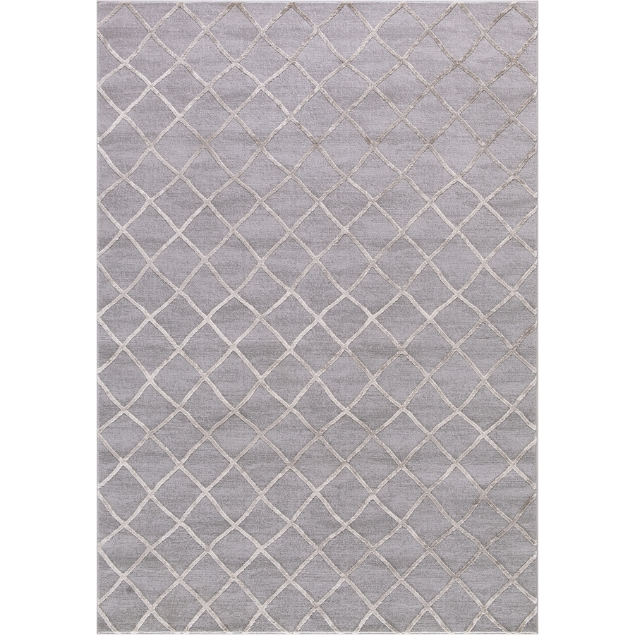 Concord Global Toledo Beige/Gray Rectangular Indoor Machine-Made Oriental Area Rug (Common: 3 x 5; Actual: 3.25-ft W x 4.58-ft L)