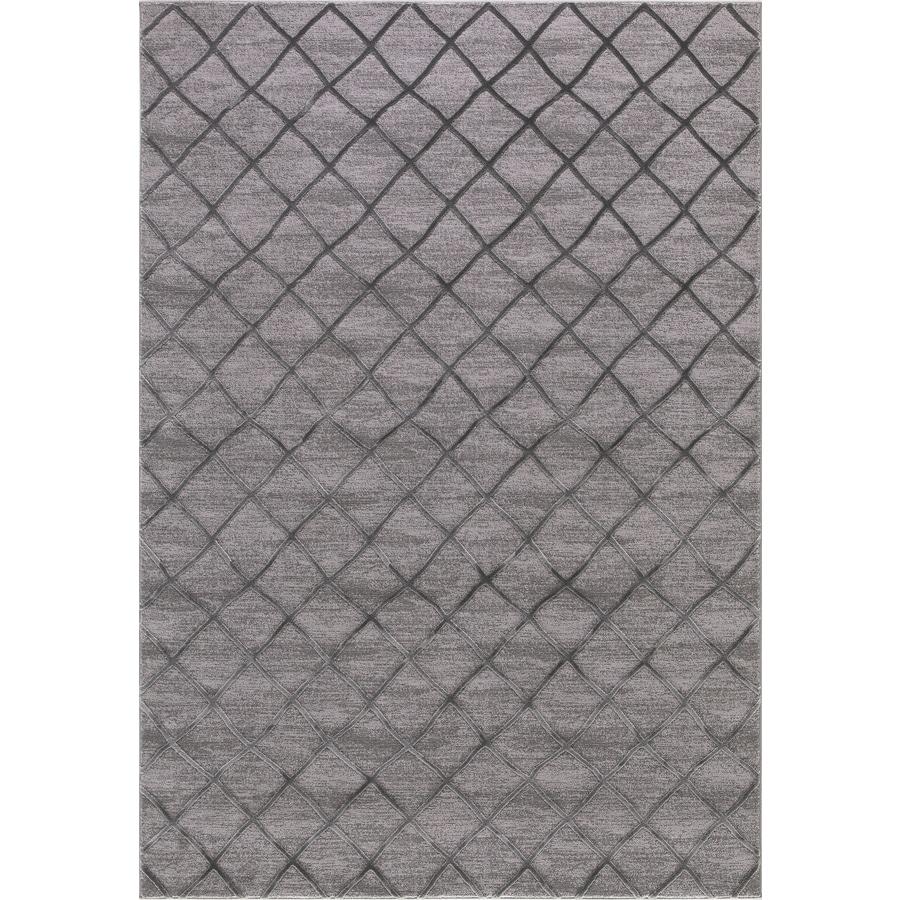 Concord Global Toledo Gray Rectangular Indoor Machine-Made Oriental Area Rug (Common: 8 x 11; Actual: 7.83-ft W x 10.5-ft L)