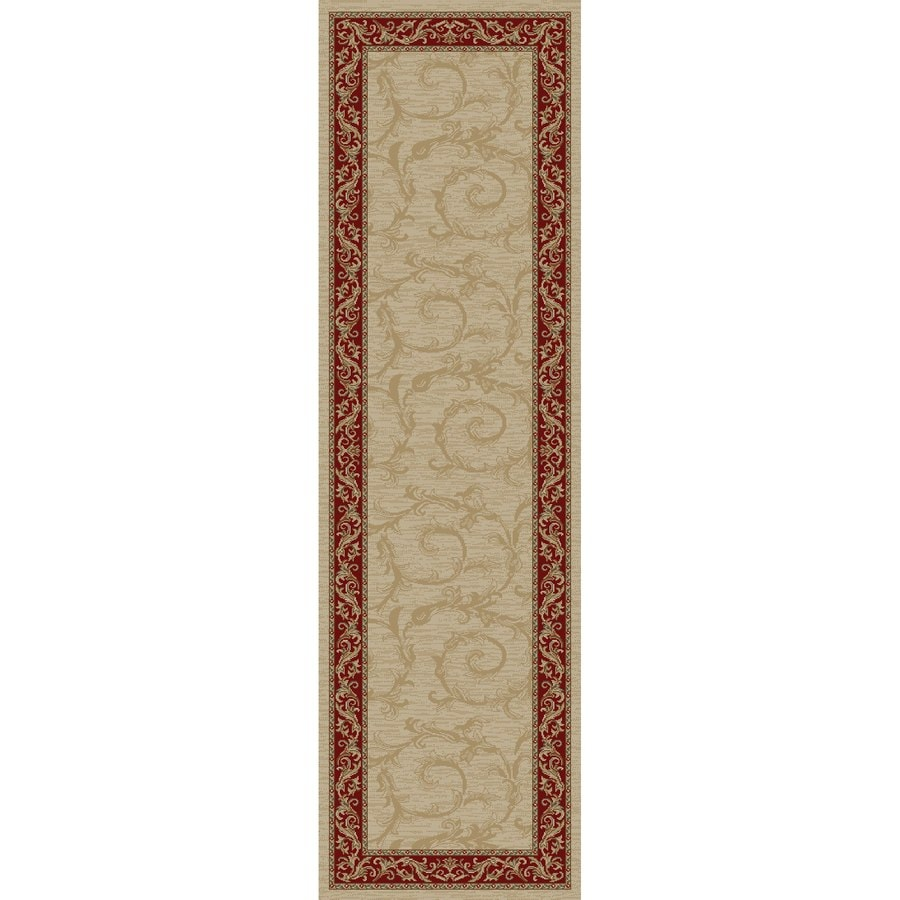 Concord Global Valencia Ivory Rectangular Indoor Woven Oriental Runner (Common: 2 x 8; Actual: 2.25-ft W x 7.58-ft L x 2.25-ft Dia)
