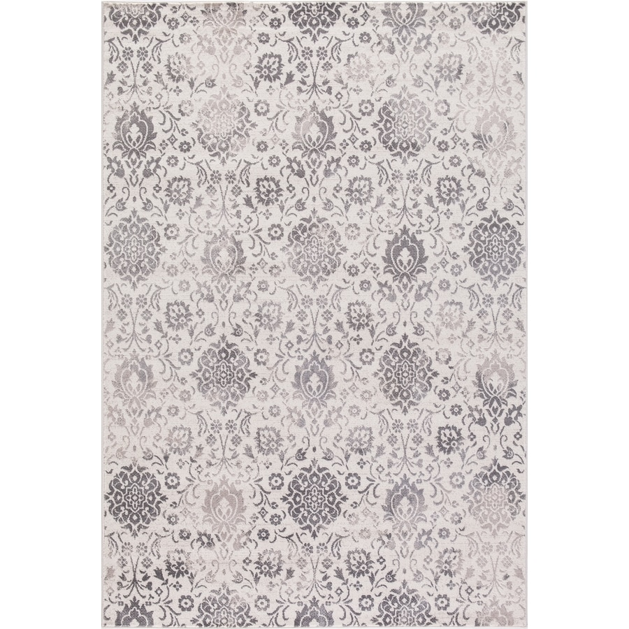 Concord Global Palermo Ivory Indoor Oriental Area Rug (Common: 8 x 11; Actual: 7.83-ft W x 10.5-ft L)