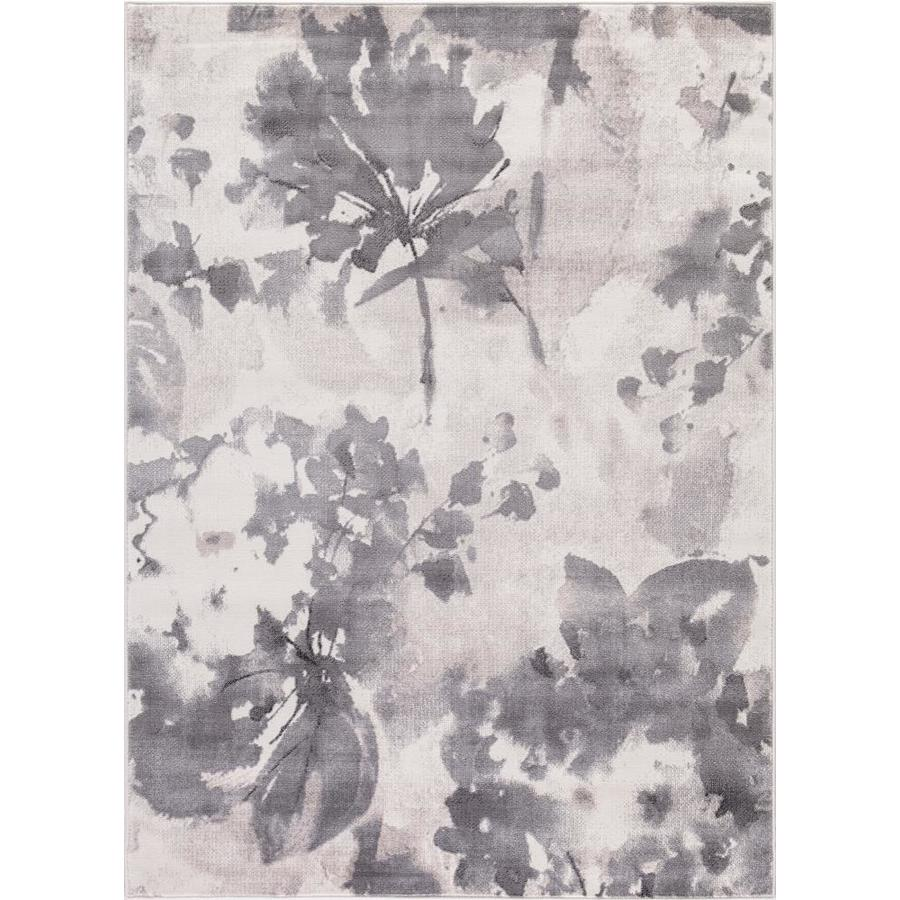 Concord Global Palermo Ivory Indoor Distressed Area Rug