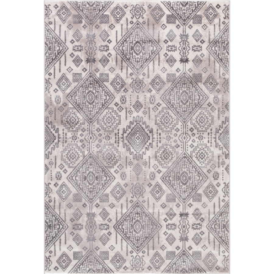 Concord Global Palermo Ivory Rectangular Indoor Machine-Made Oriental Area Rug (Common: 3 x 4; Actual: 2.58-ft W x 4-ft L)