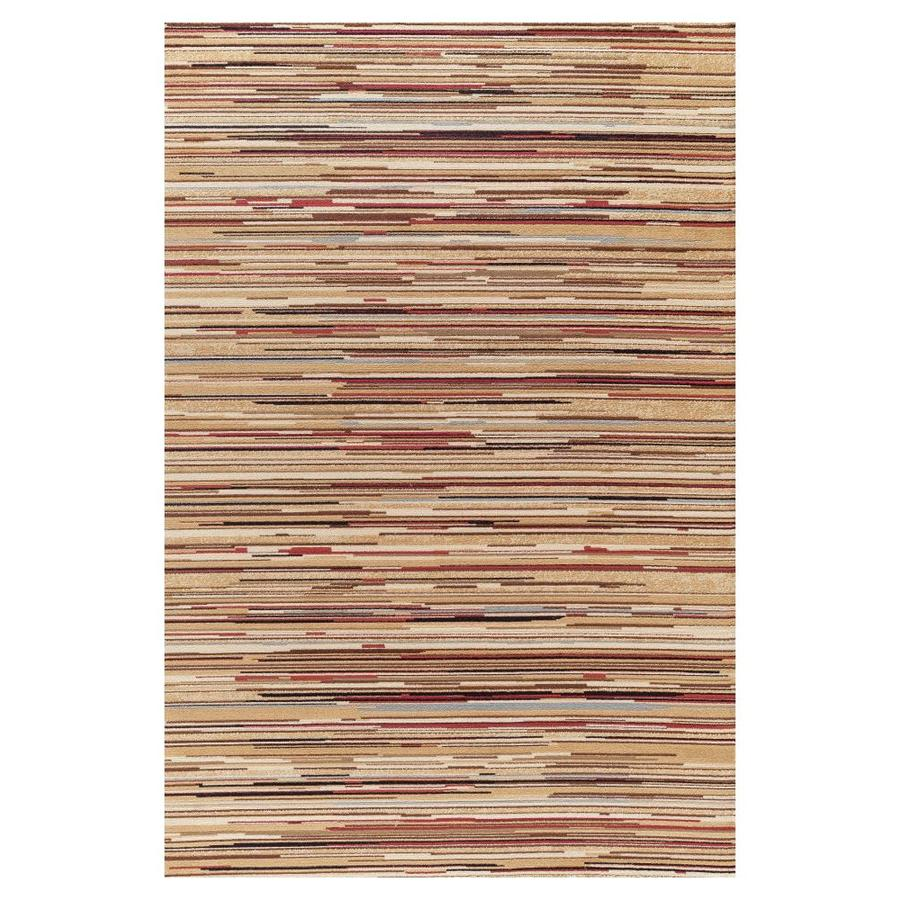 Concord Global Valencia Multicolor Rectangular Indoor Woven Oriental Area Rug (Common: 5 x 8; Actual: 5.25-ft W x 7.58-ft L x 5.25-ft Dia)