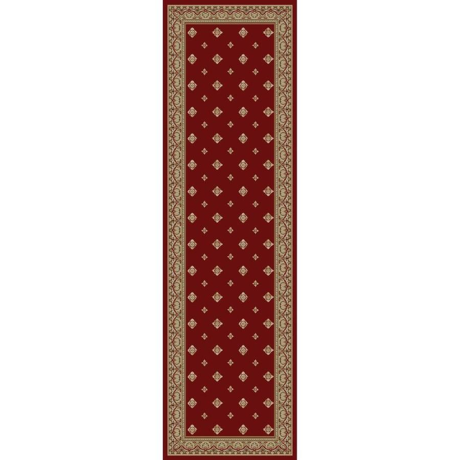 Concord Global Florence Red Rectangular Indoor Woven Oriental Runner (Common: 2 x 7; Actual: 2.25-ft W x 7.25-ft L x 2.25-ft Dia)