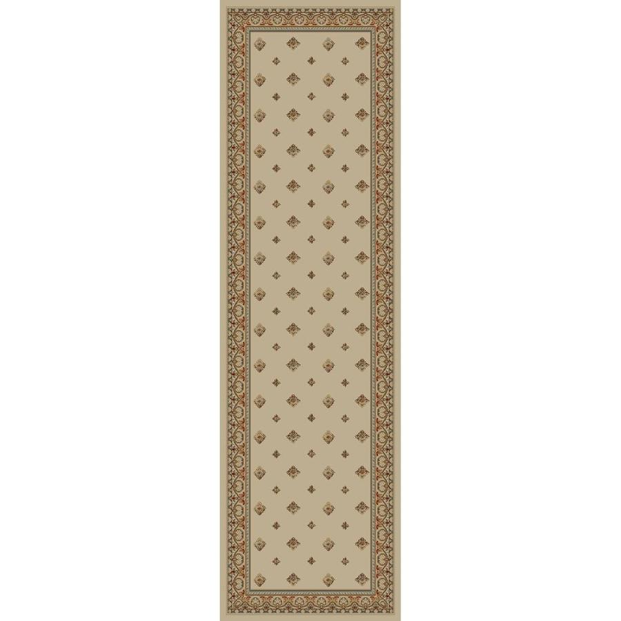 Concord Global Florence Ivory Rectangular Indoor Machine-made Oriental Runner (Common: 2 x 7; Actual: 2.25-ft W x 7.25-ft L x 2.25-ft Dia)