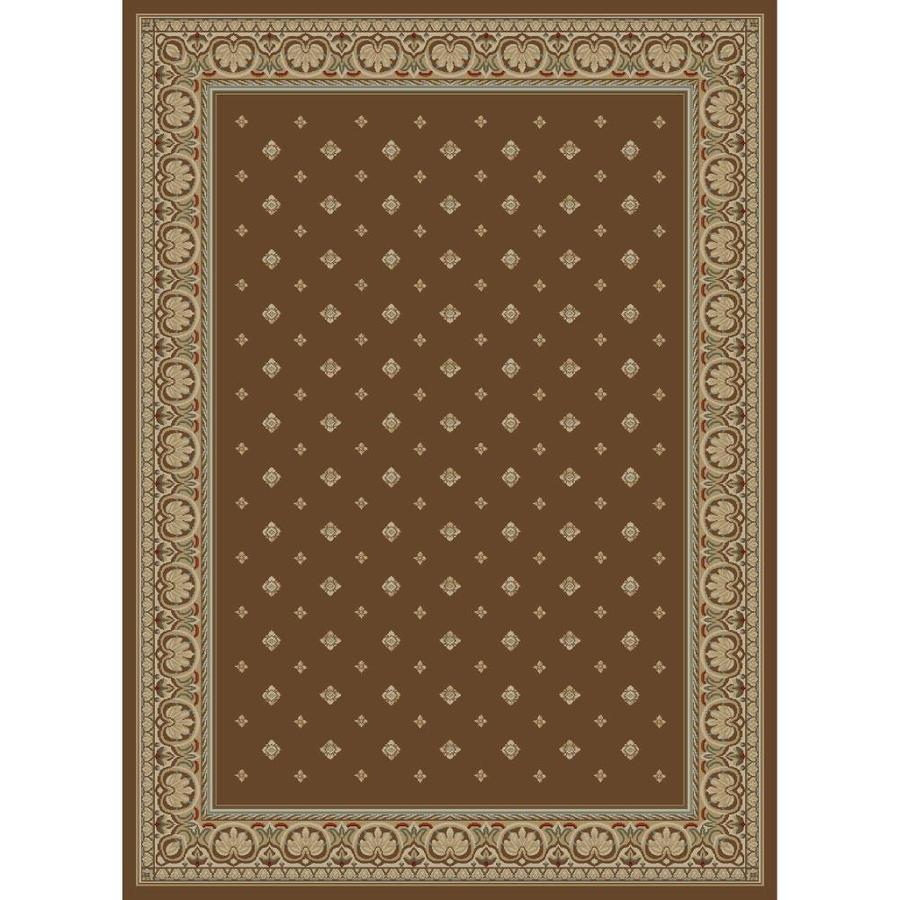 Concord Global Florence Brown Rectangular Indoor Woven Oriental Runner (Common: 2 x 7; Actual: 2.25-ft W x 7.25-ft L x 2.25-ft Dia)