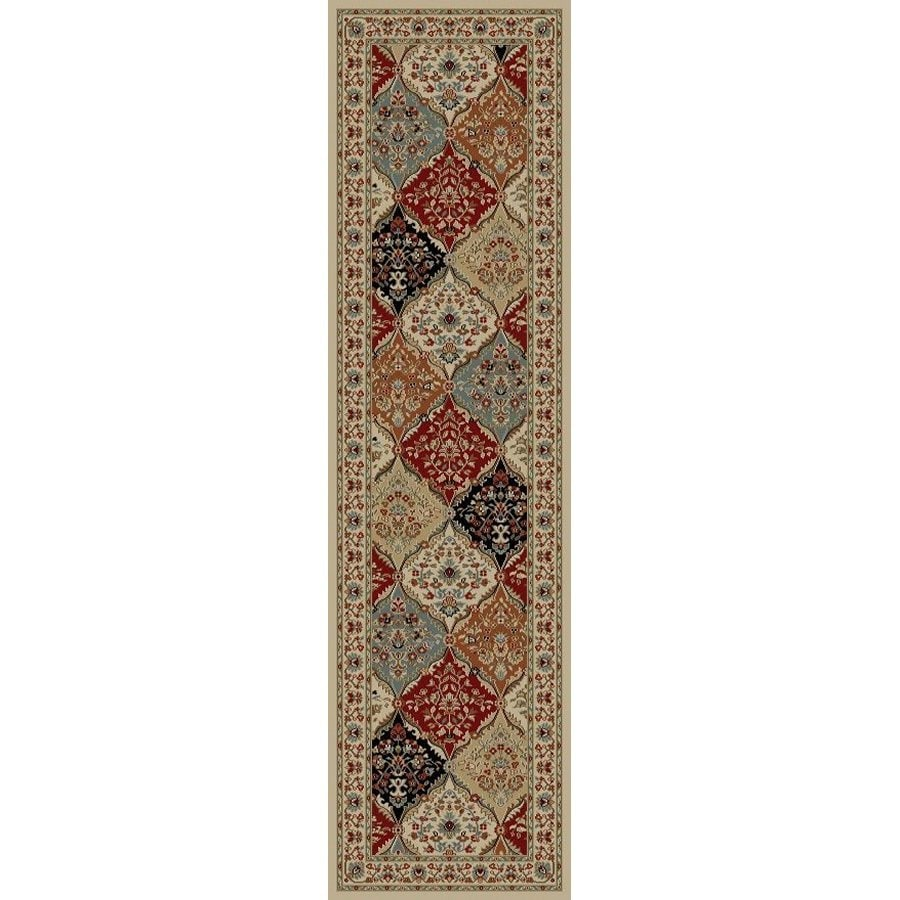 Style Selections Gabbett Multicolor Rectangular Indoor Woven Oriental Runner (Common: 2 x 7; Actual: 1.92-ft W x 7.25-ft L x 1.92-ft Dia)
