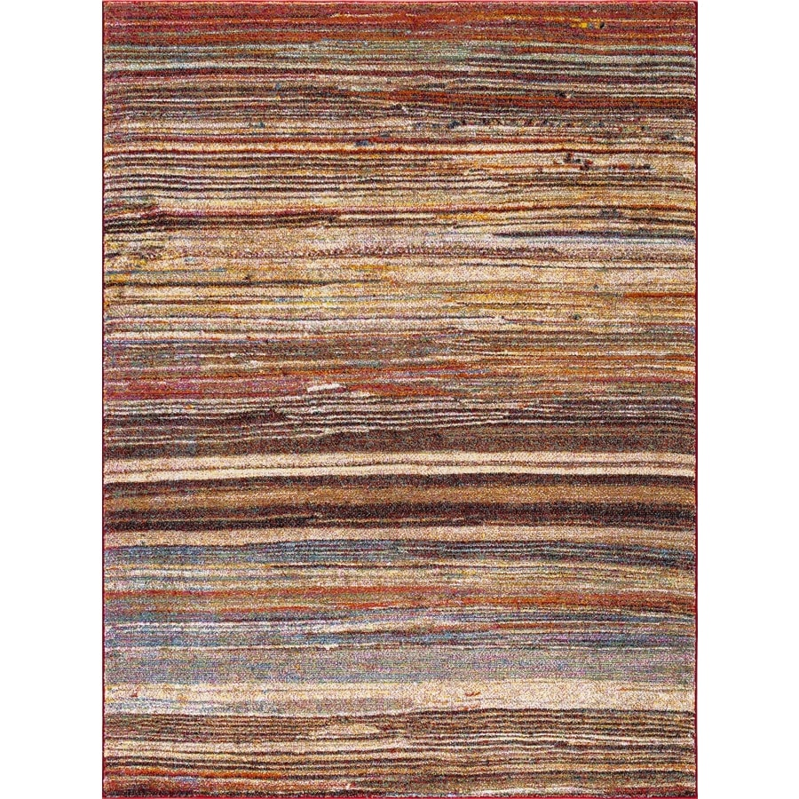 Concord Global Sterling Multi Rectangular Indoor Machine-Made Oriental Area Rug (Common: 5 x 8; Actual: 5.25-ft W x 7.25-ft L)