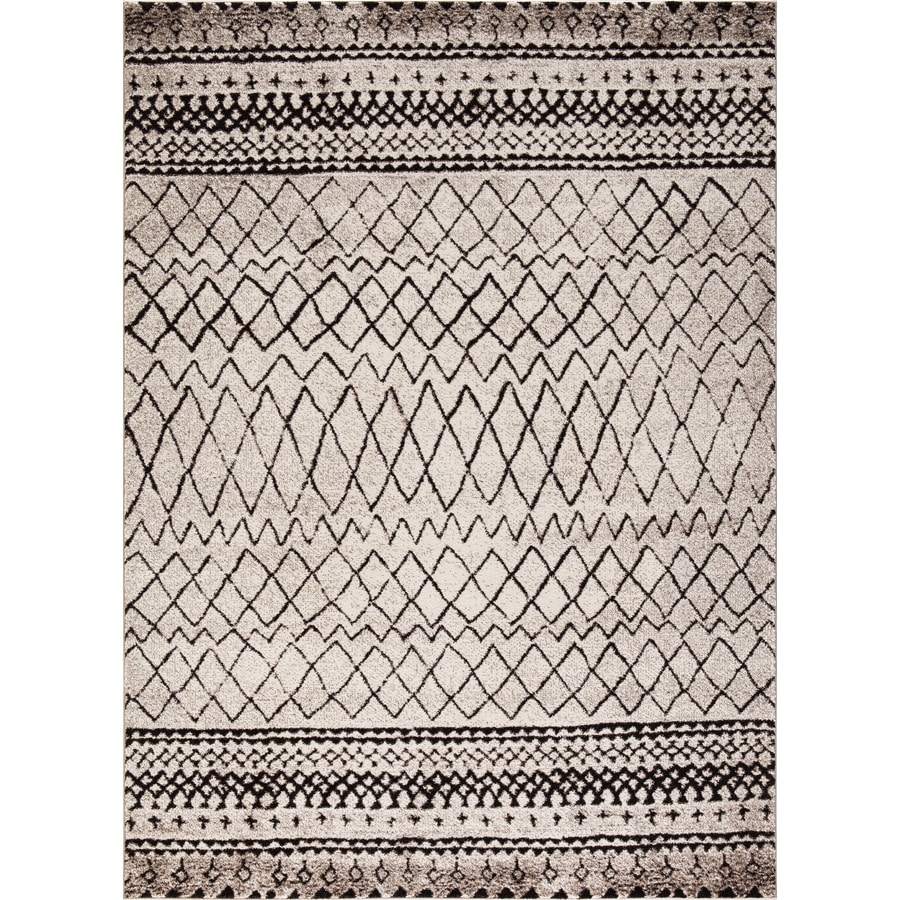 Concord Global Sterling Ivory Indoor Moroccan Area Rug
