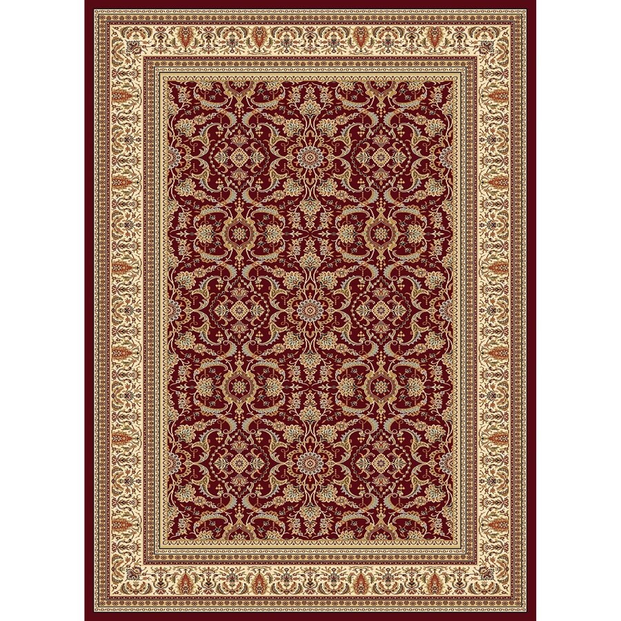 Concord Global Cyrus Red Indoor Oriental Area Rug Common