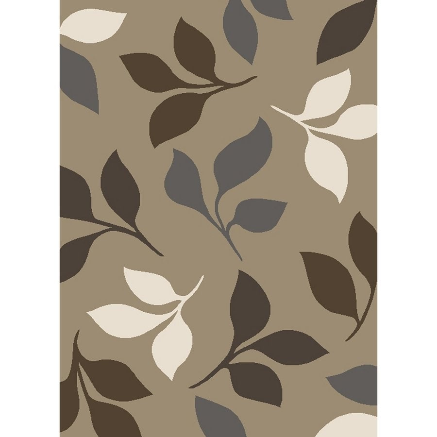 Concord Global Manhattan Beige Rectangular Indoor Woven Area Rug (Common: 5 x 7; Actual: 5.25-ft W x 7.25-ft L x 5.25-ft Dia)