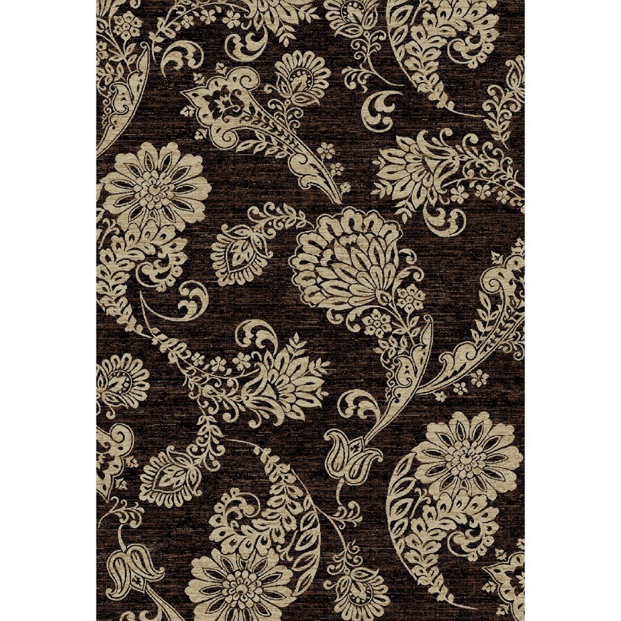 Concord Global Kensington Black Rectangular Indoor Woven Nature Area Rug (Common: 7 x 10; Actual: 79-in W x 114-in L x 6.58-ft Dia)