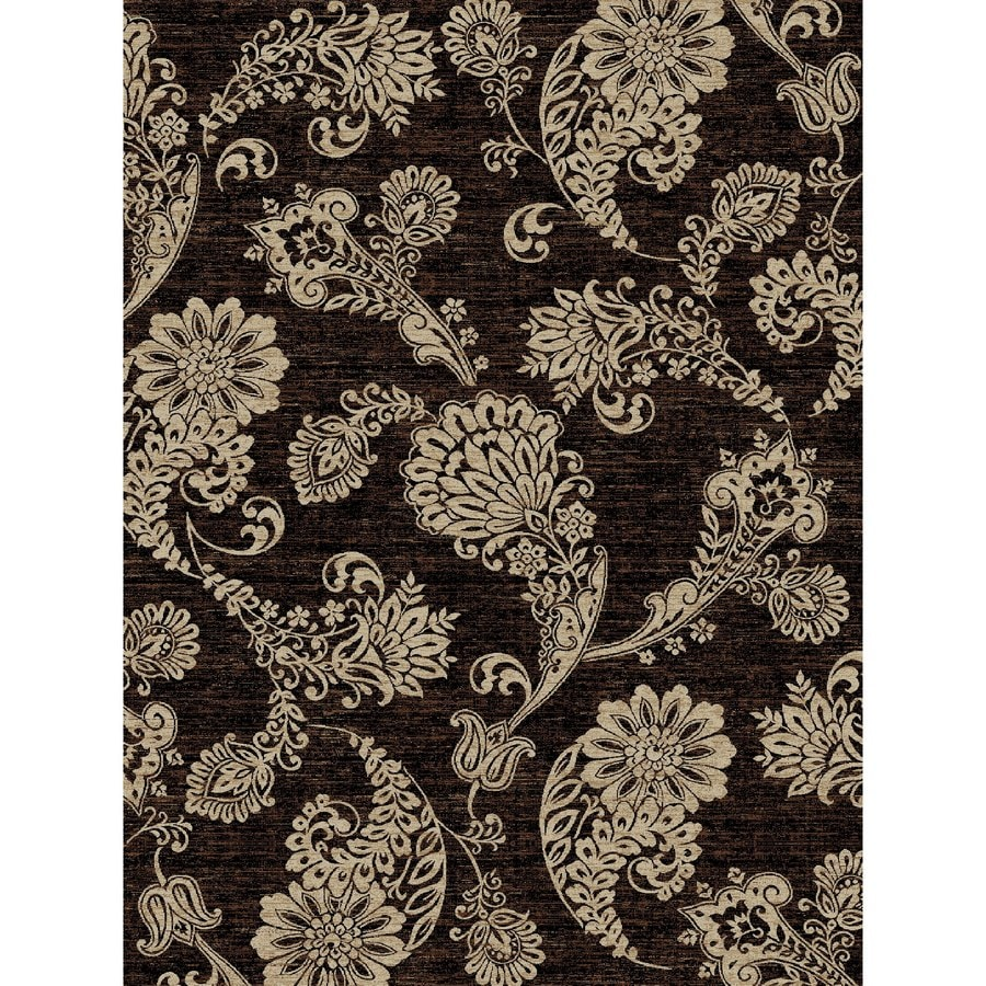 Concord Global Kensington Black Rectangular Indoor Woven Nature Area Rug (Common: 8 x 11; Actual: 94-in W x 126-in L x 7.83-ft Dia)