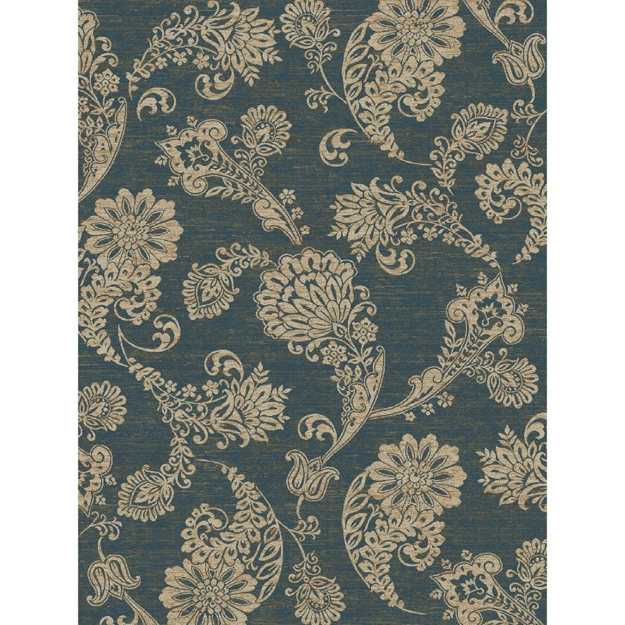 Concord Global Kensington Blue Rectangular Indoor Woven Nature Area Rug (Common: 8 x 11; Actual: 94-in W x 126-in L x 7.83-ft Dia)