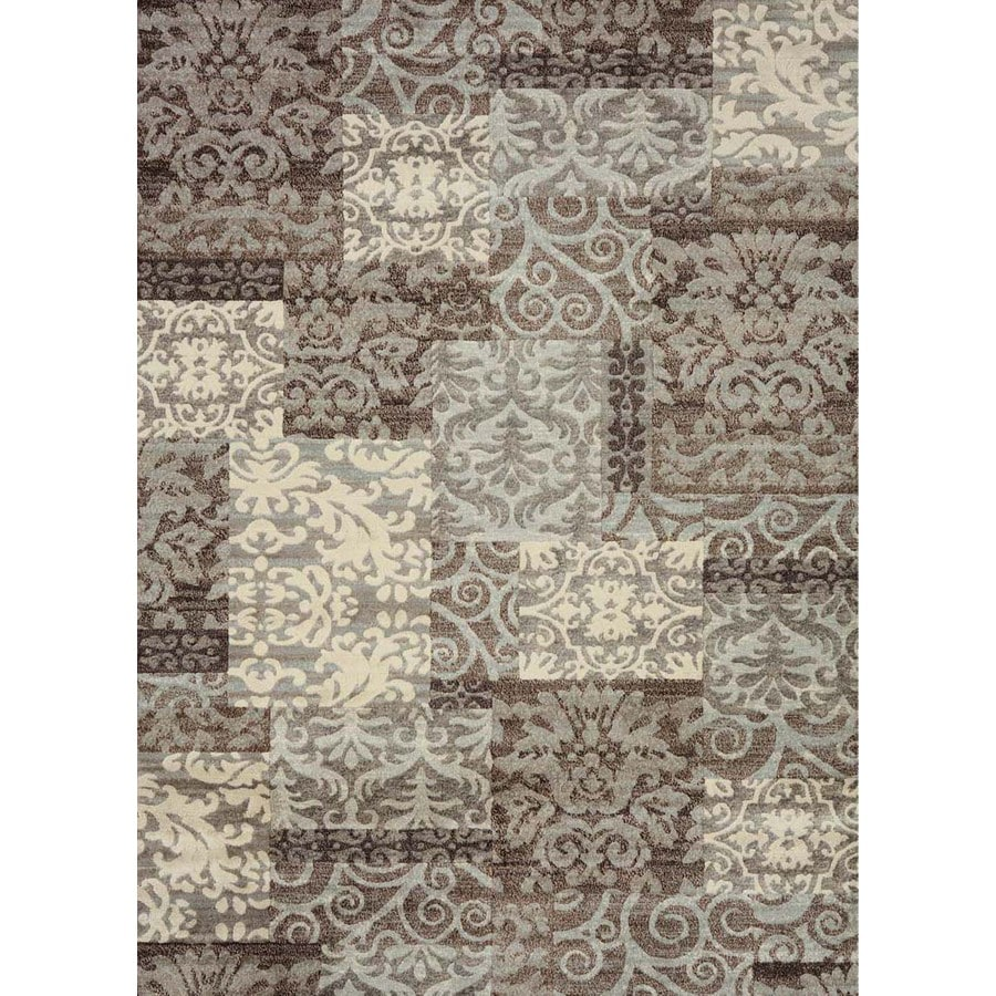 Concord Global Winston Ivory Rectangular Indoor Area Rug (Common: 5 x 7; Actual: 5.25-ft W x 7.25-ft L x 5.25-ft dia)