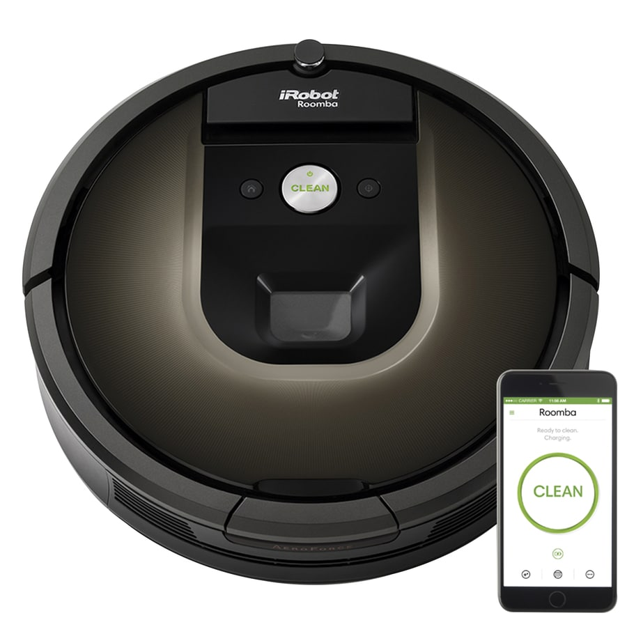 Shop Irobot Roomba 980 Robotic Vacuum At