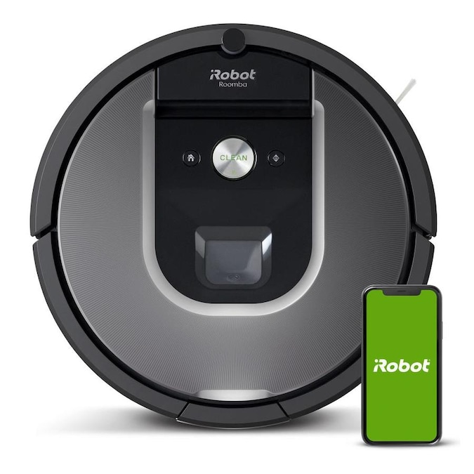 iRobot Roomba 960 Silver Robotic Vacuum