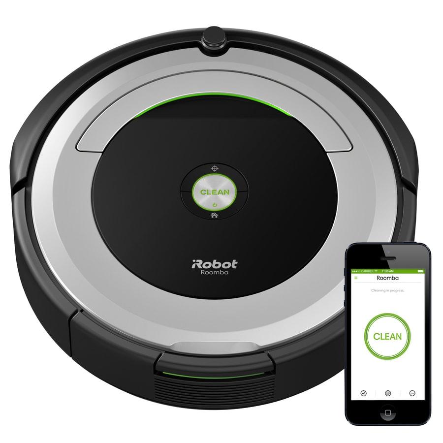 Shop Irobot Roomba 690 Robotic Vacuum At Lowes Com