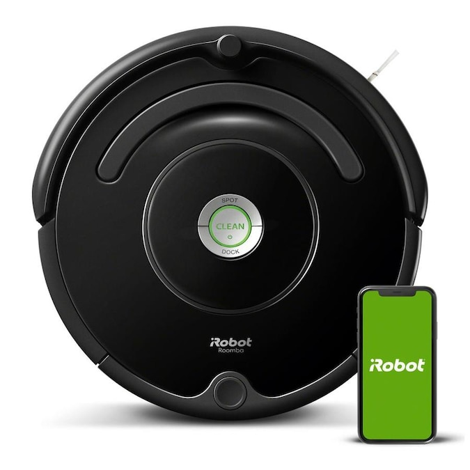 iRobot Roomba 675 Black Robotic Vacuum