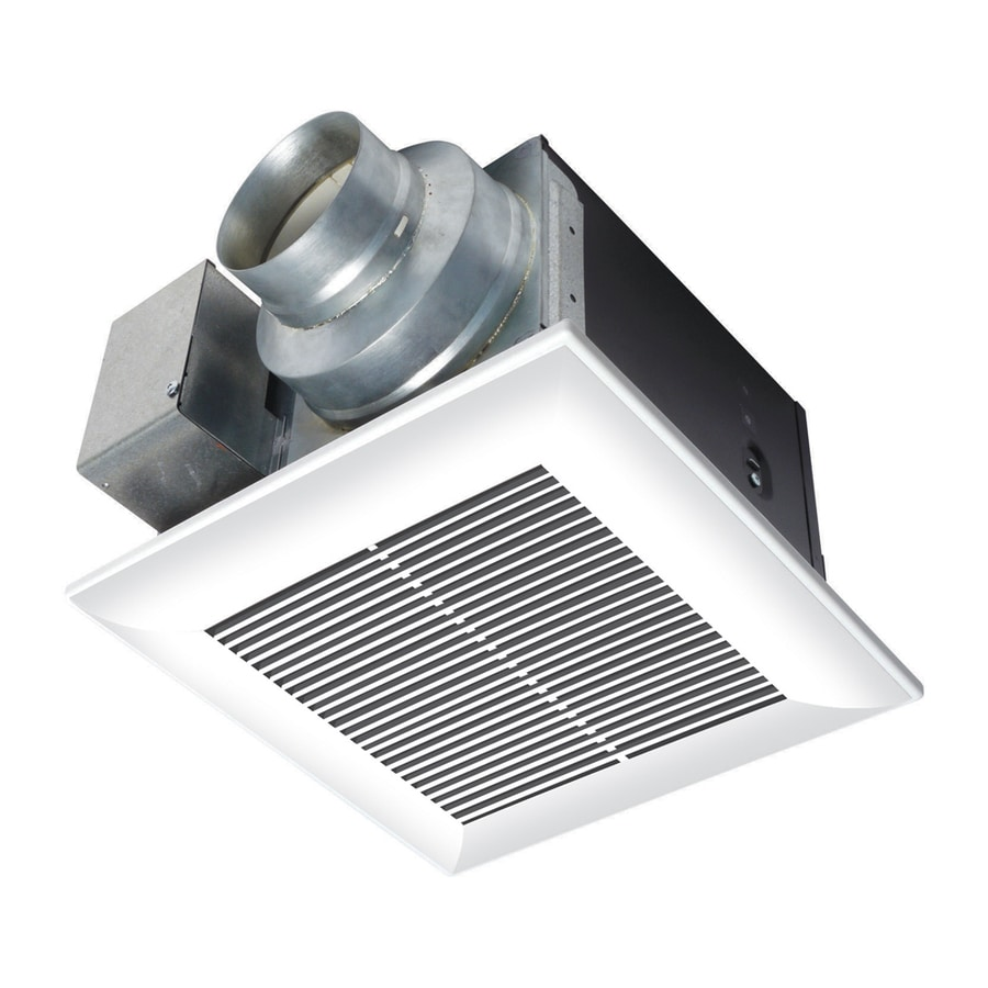 Panasonic 0.3-Sone 50-CFM White Bathroom Fan ENERGY STAR