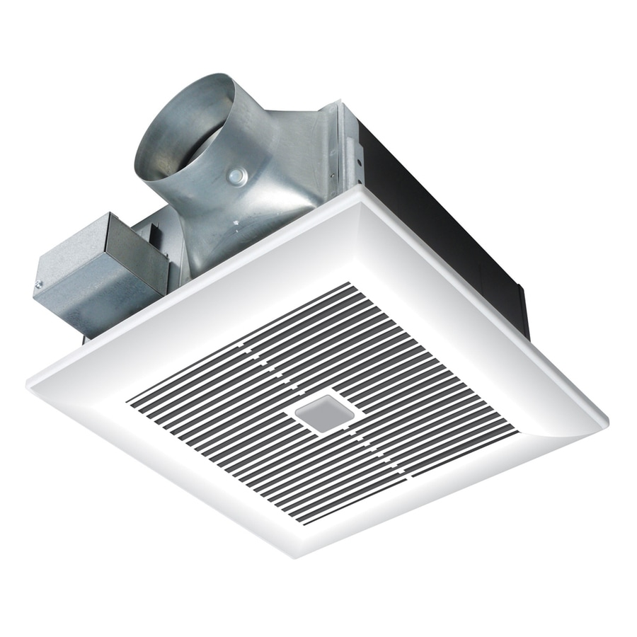 Panasonic 0.4-Sone 80-CFM White Bathroom Fan ENERGY STAR