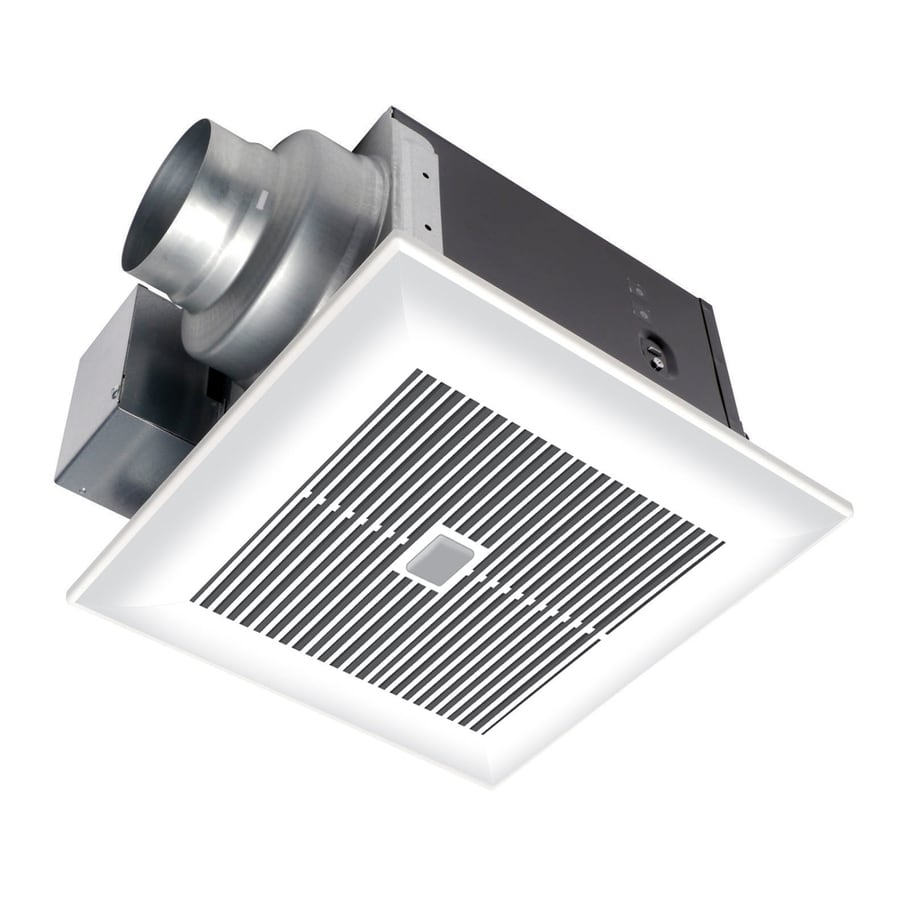 Panasonic 0 3 Sone 80 CFM White Bathroom Fan ENERGY STAR. Shop Bathroom Fans at Lowes com
